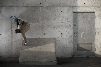 Vans x Sam Partaix bs wallride handplant tours