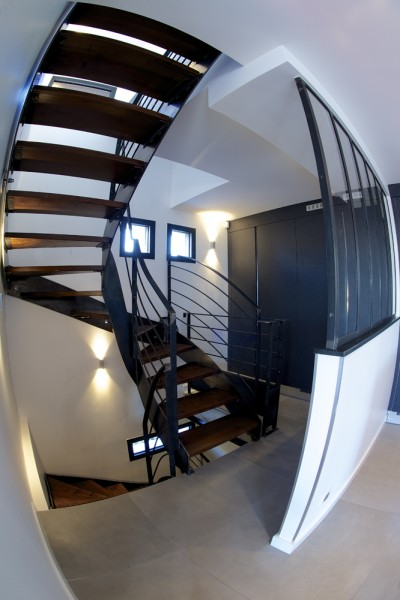 preview archi stairs fish eye verti