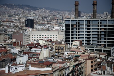 preview barcelona city and factory