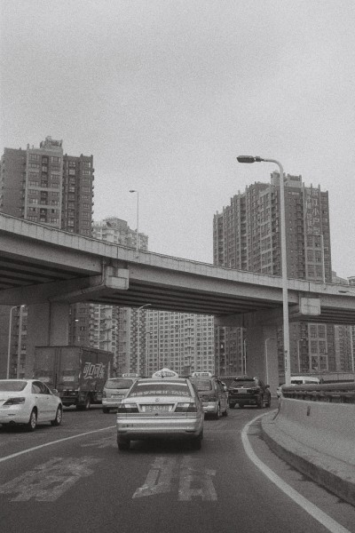 preview shanghai cabs and traffic verti