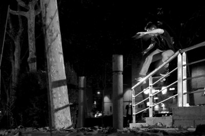 preview Unlanded leo cholet fs noseslide